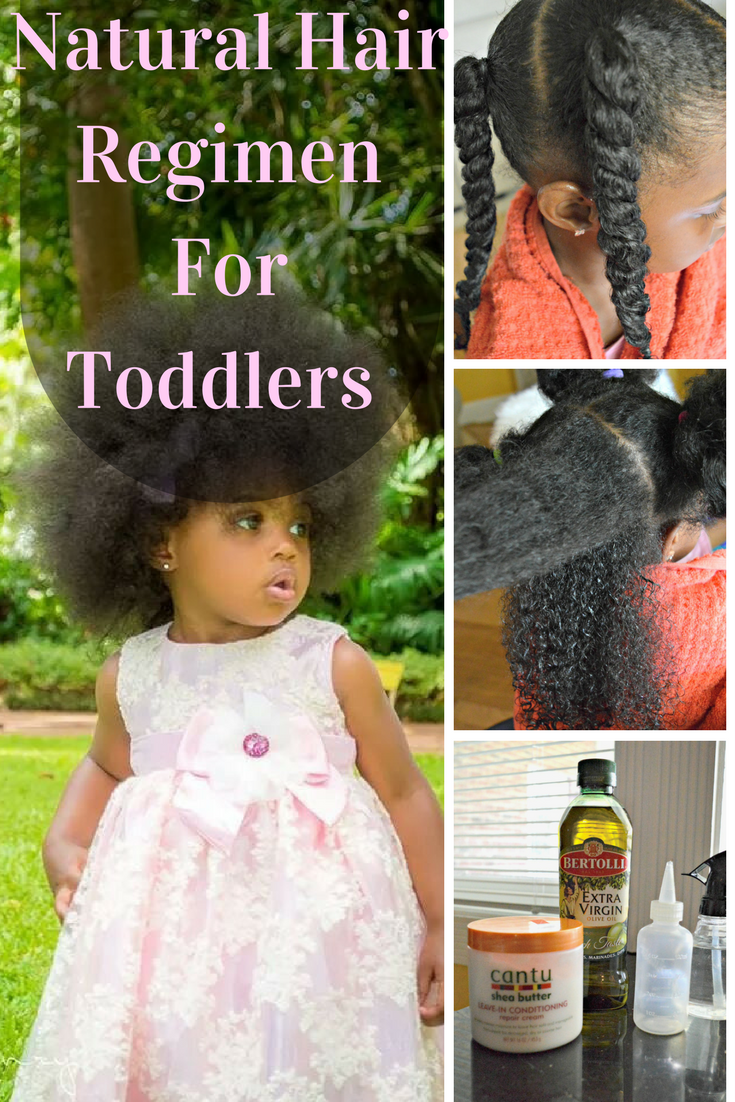 A Simple Natural Hair Routine For Toddlers Sheknows