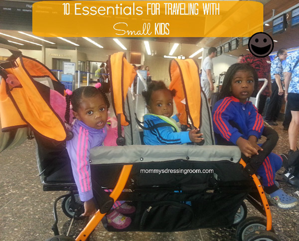 10 Essentials for Traveling With Small Kids