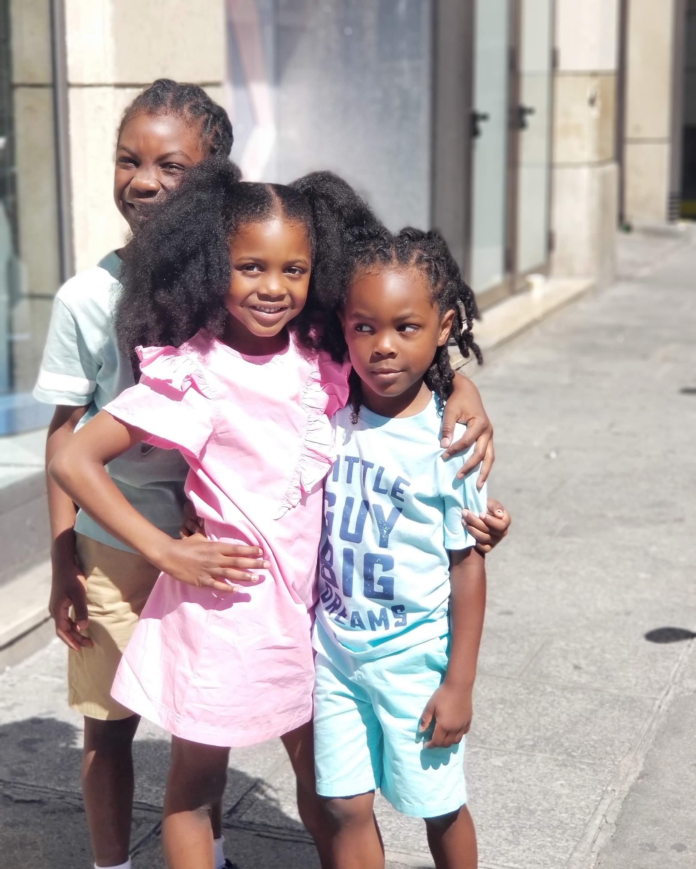black family travel