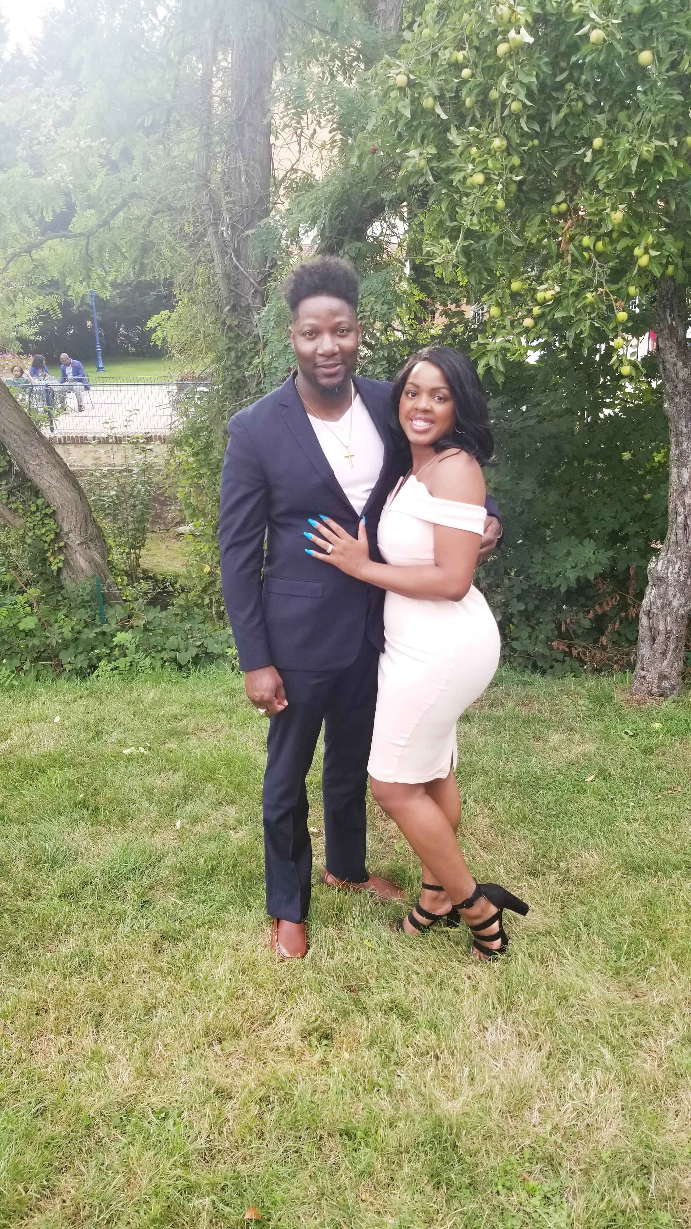 black couple luxury travel